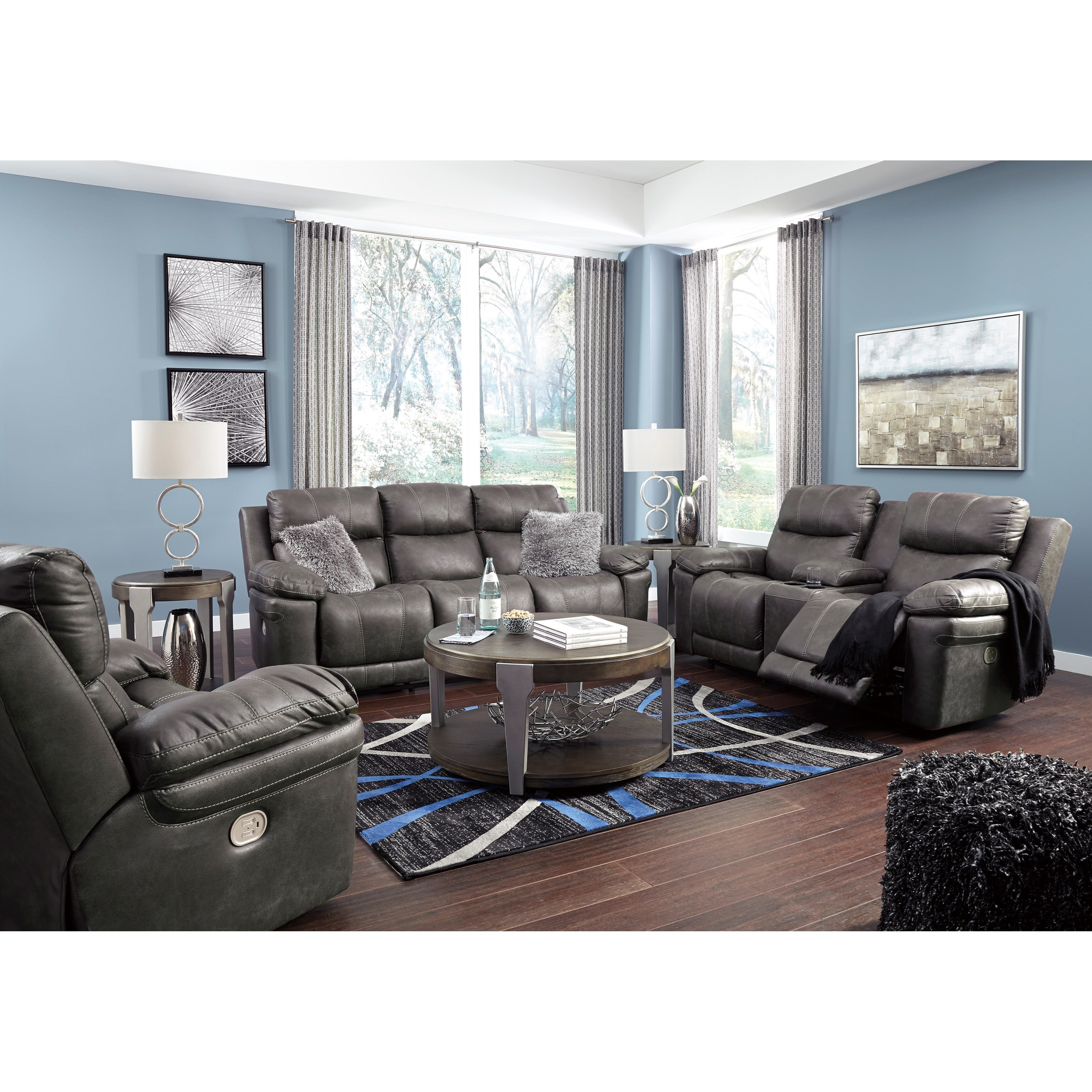 Erlangen Reclining Living Room Group by Signature Design by Ashley at Darvin Furniture