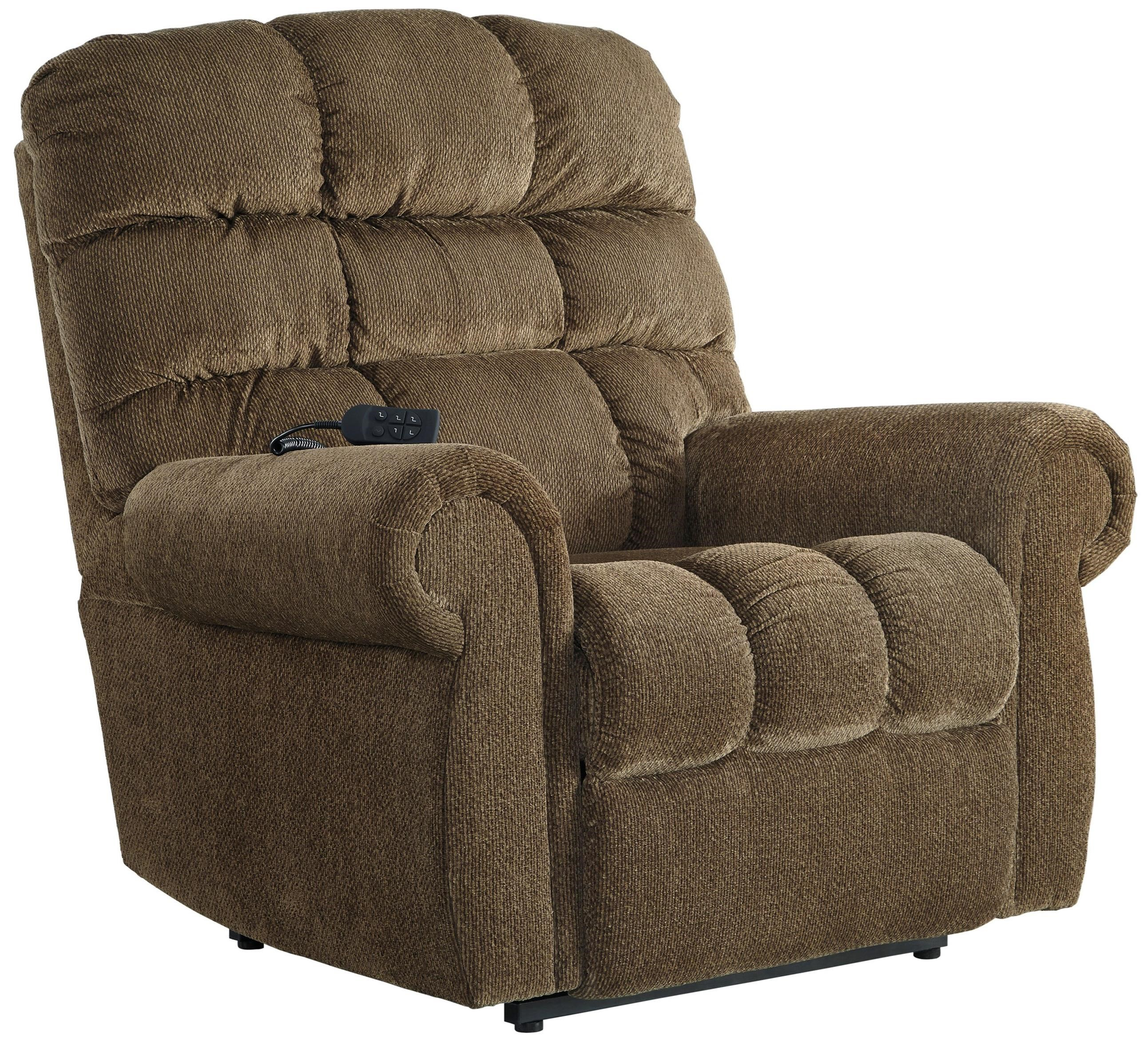 Ernestine Power Lift Recliner by Signature Design by Ashley at Beck's Furniture
