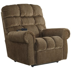 Power Lift Recliner with Rolled Arms