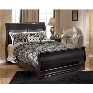 Signature Design by Ashley Esmarelda Queen Sleigh Bed