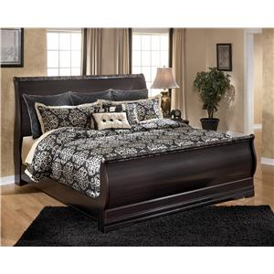 Signature Design by Ashley Esmarelda King Sleigh Bed