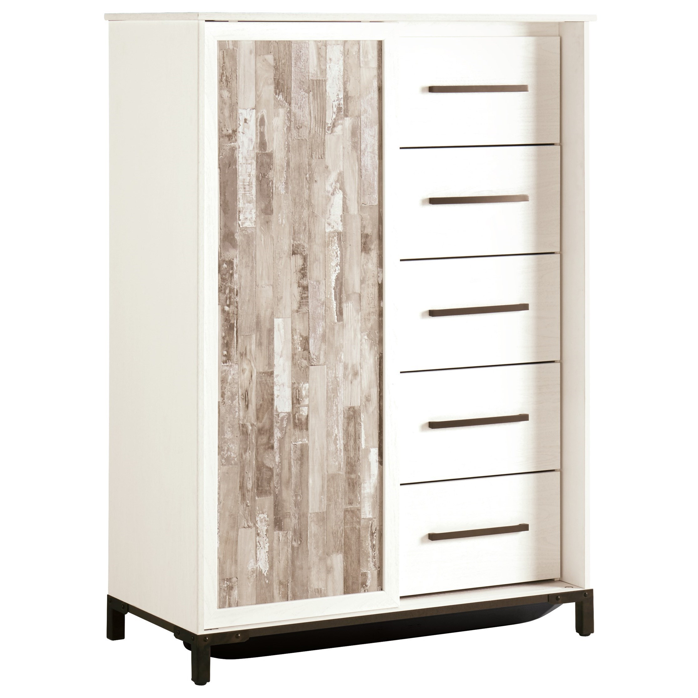 Evanni Dressing Chest by Signature Design by Ashley at Lapeer Furniture & Mattress Center