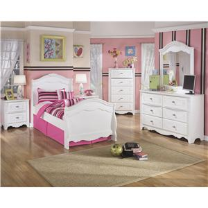 Signature Design by Ashley Exquisite Twin Bedroom Group