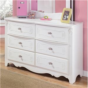 Traditional 6-Drawer Dresser