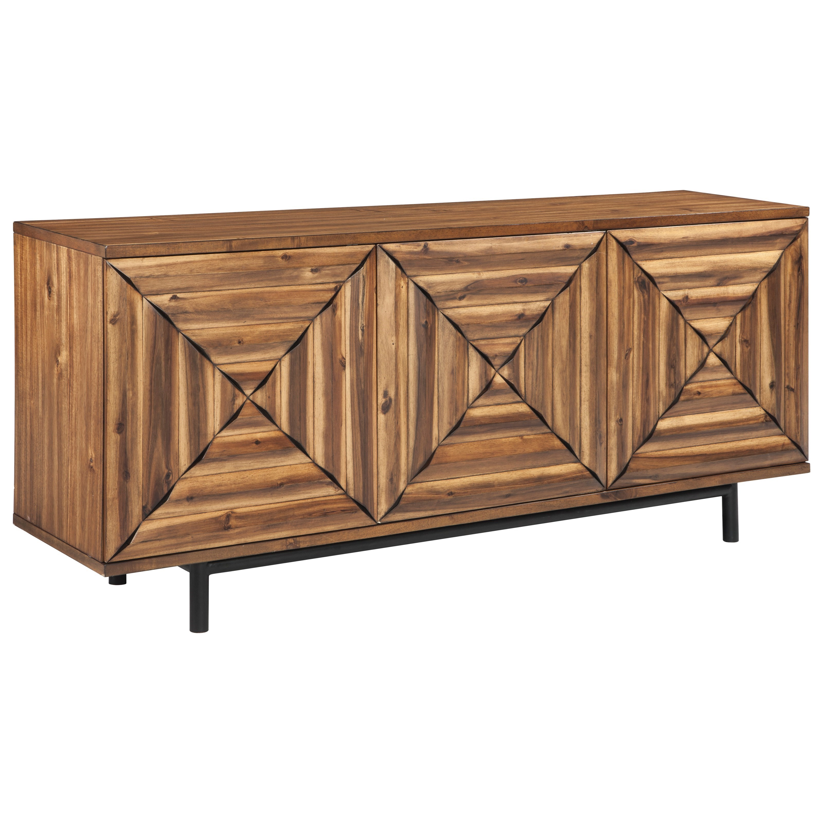 Fair Ridge Door Accent Cabinet by Signature Design by Ashley at Standard Furniture