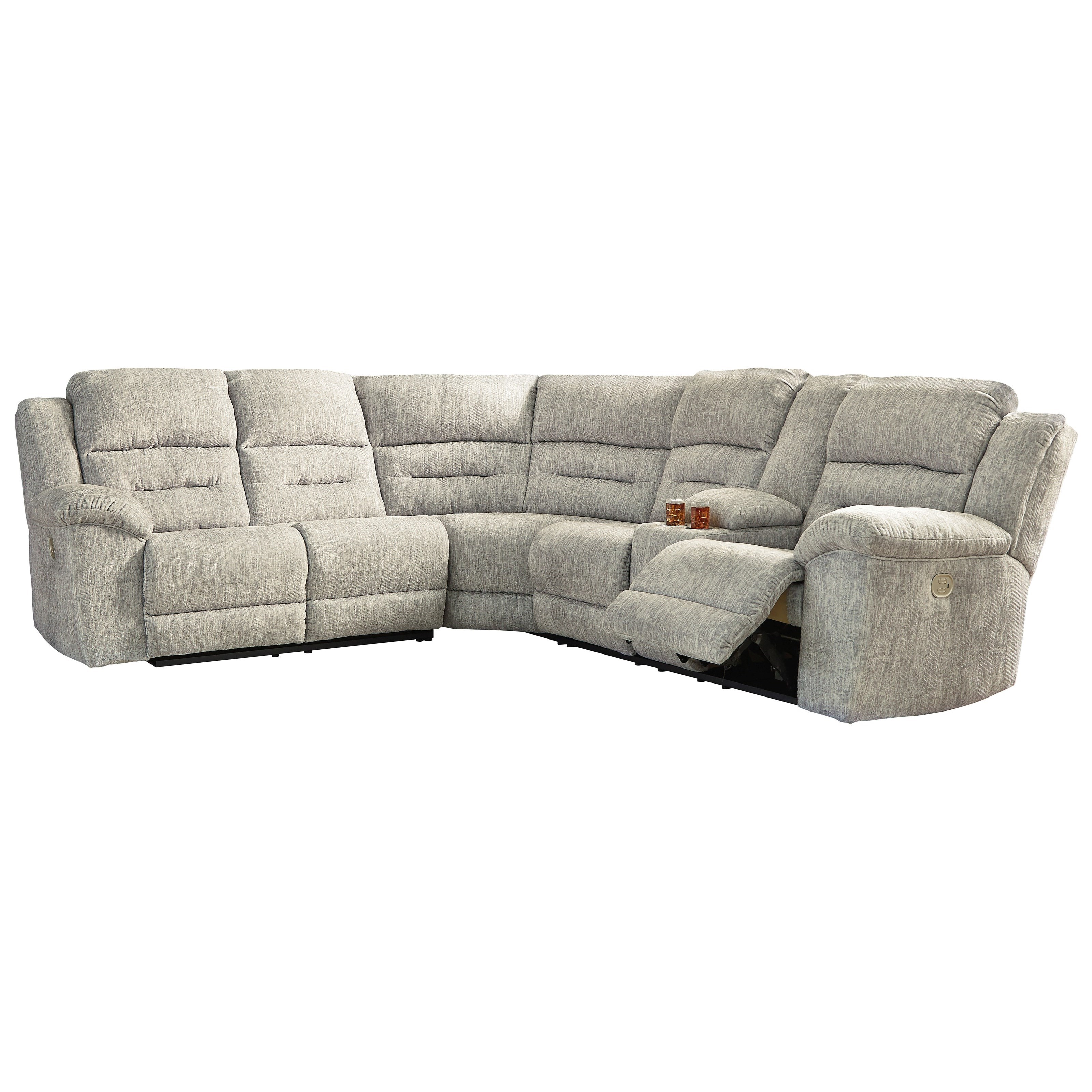 Family Den Power Reclining Sectional by Signature Design by Ashley at Northeast Factory Direct