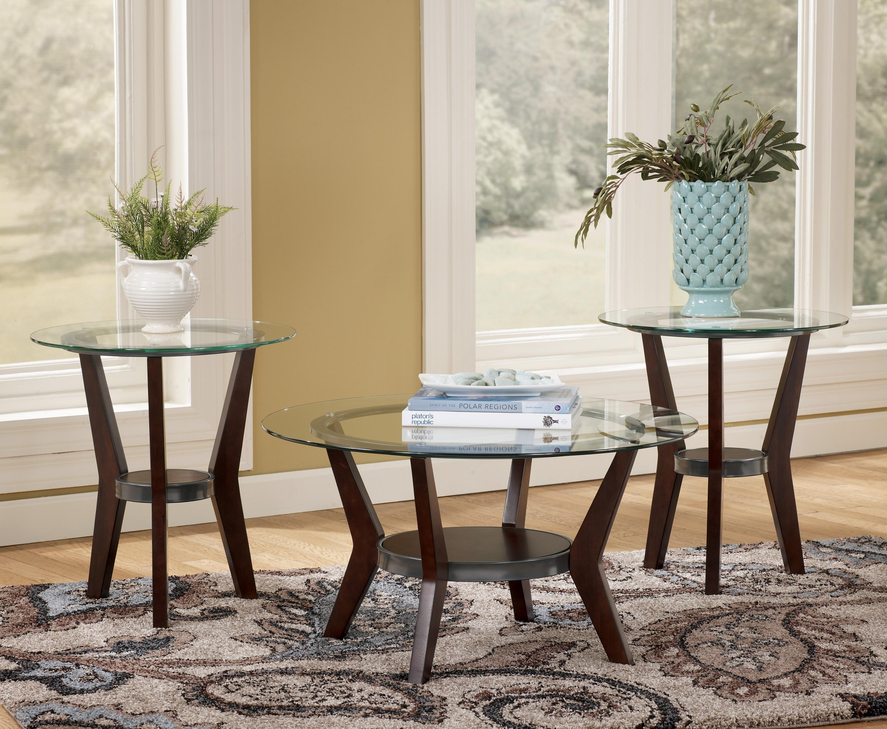 Fantell 3-in-1 Group Occasional Tables by Signature Design by Ashley at Standard Furniture