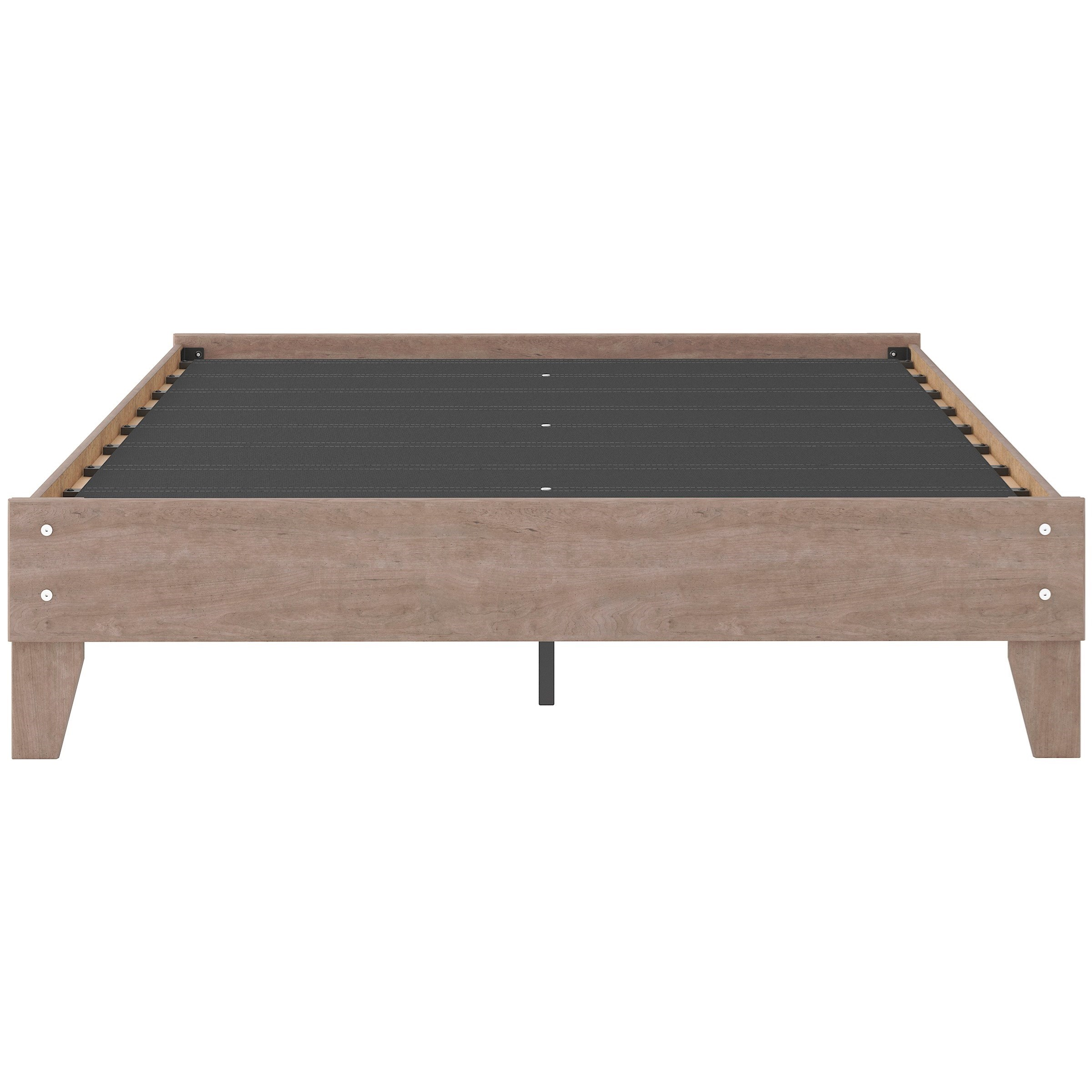 Flannia Queen Platform Bed by Ashley (Signature Design) at Johnny Janosik