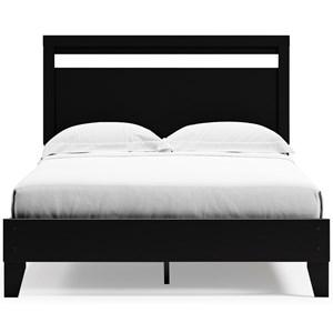Queen Panel Platform Bed
