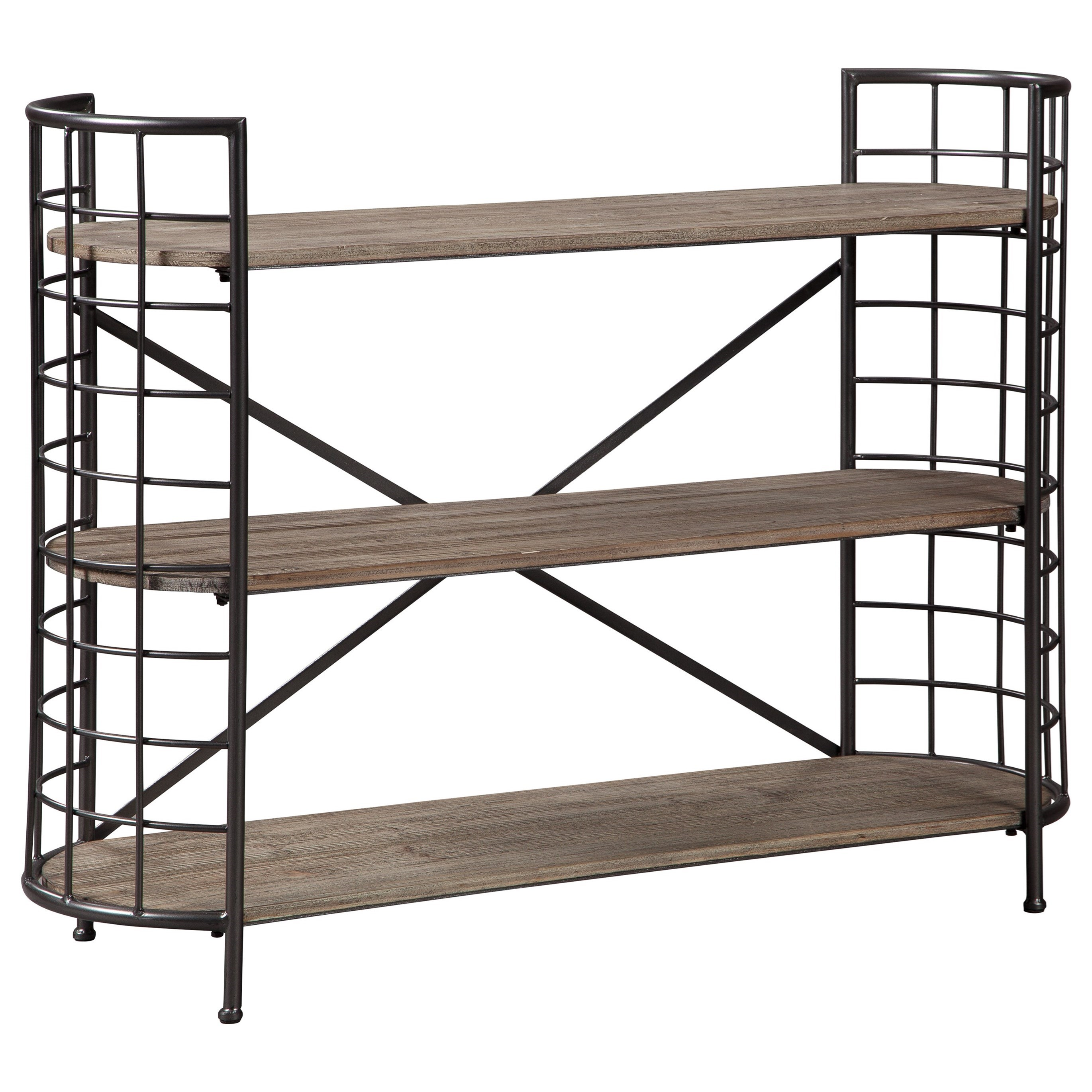 Flintley Bookcase by Signature Design by Ashley at Darvin Furniture