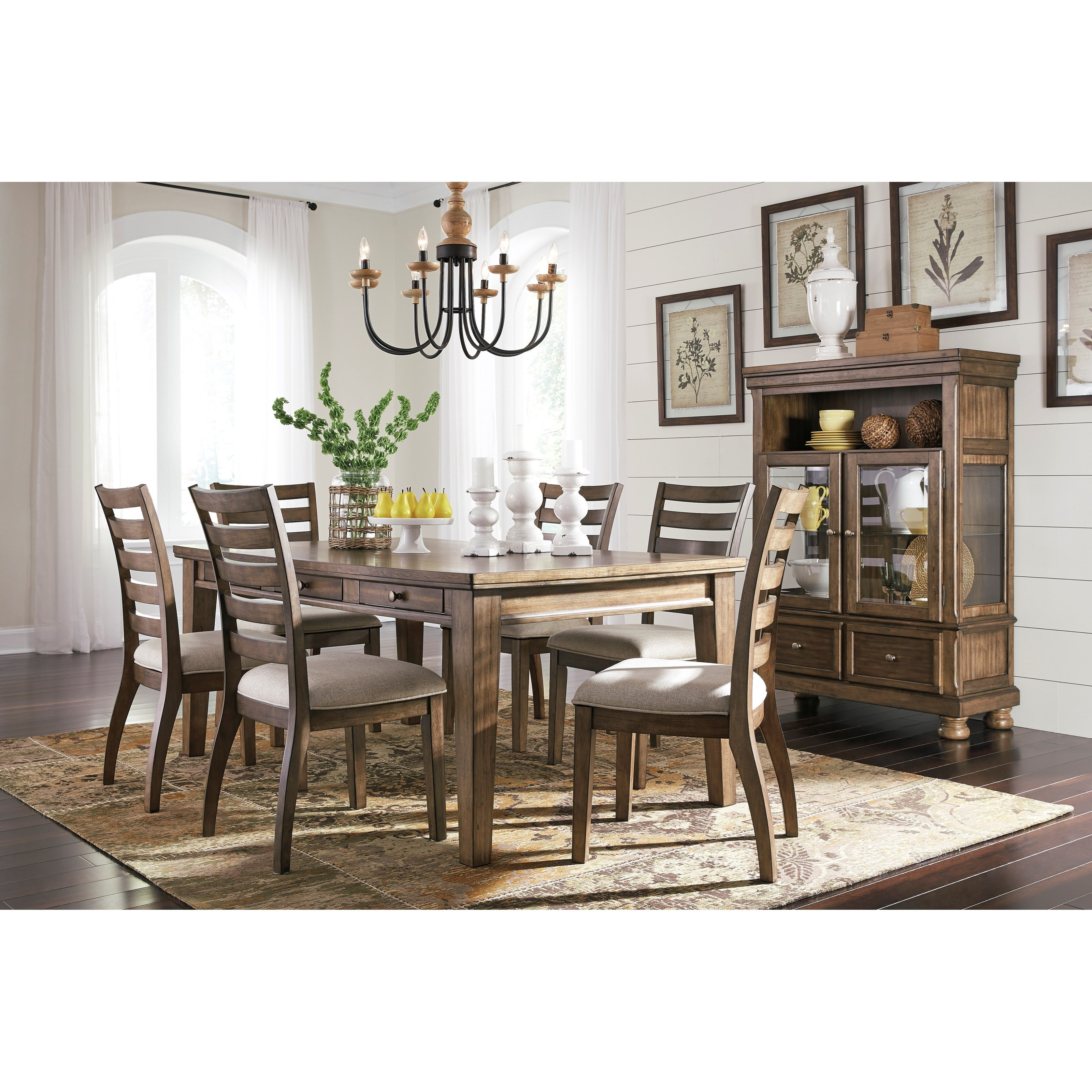 Flynnter Dining Room Group by Signature Design by Ashley at Lapeer Furniture & Mattress Center