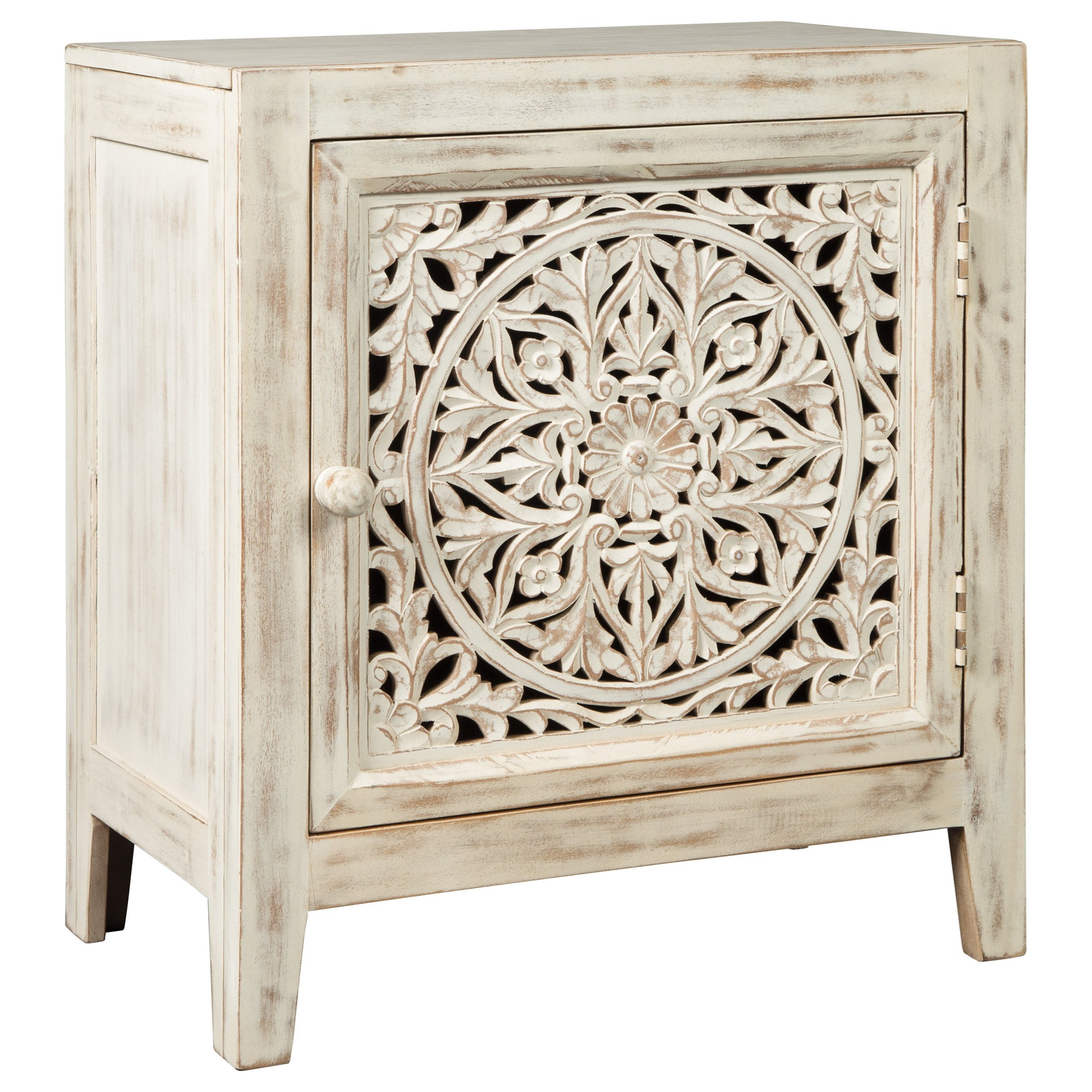 Fossil Ridge Accent Cabinet by Signature Design by Ashley at Zak's Warehouse Clearance Center