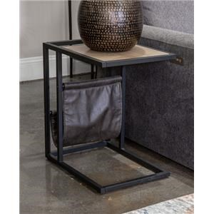 Magazine Chair Side Table