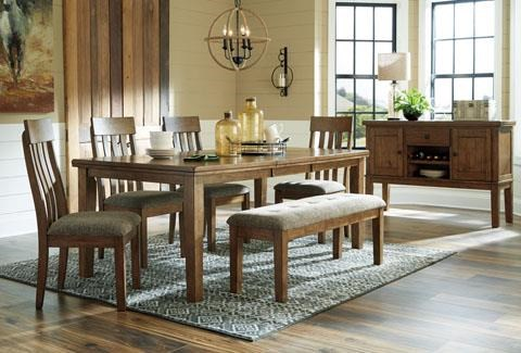 Gainsville Gainsville 5-Piece Dining Table Set by Ashley at Morris Home