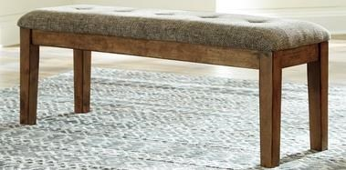 Gainsville Gainsville Upholstered Dining Bench by Ashley at Morris Home
