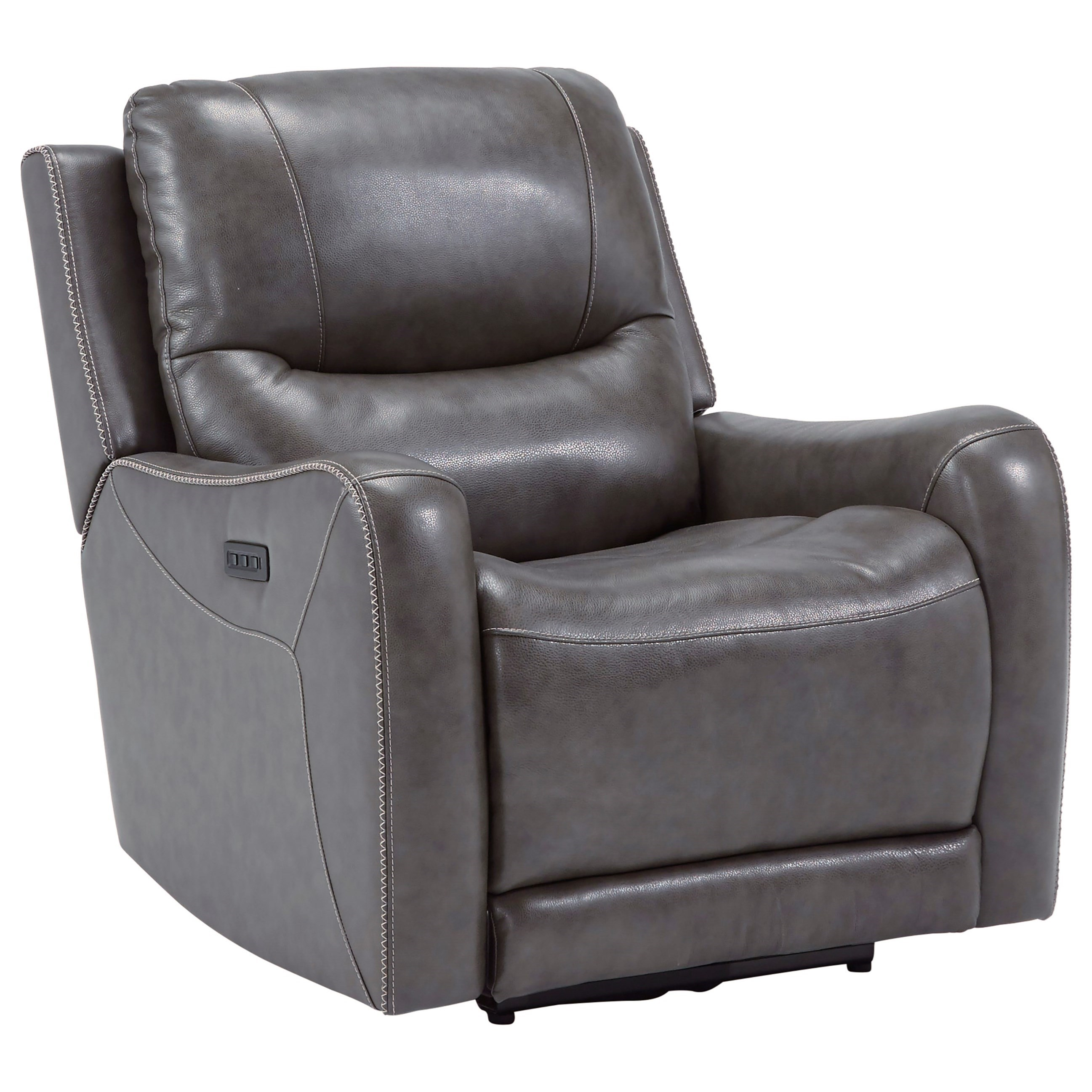 Galahad Zero Wall Recliner w/ Power Headrest by Signature Design by Ashley at Suburban Furniture