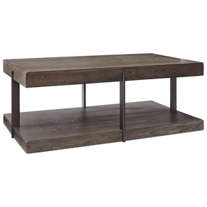 Industrial Rectangular Cocktail Table