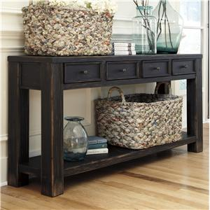 Signature Design by Ashley Gavelston Sofa Table
