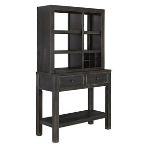 Signature Design by Ashley Gavelston Dining Room Server & Hutch