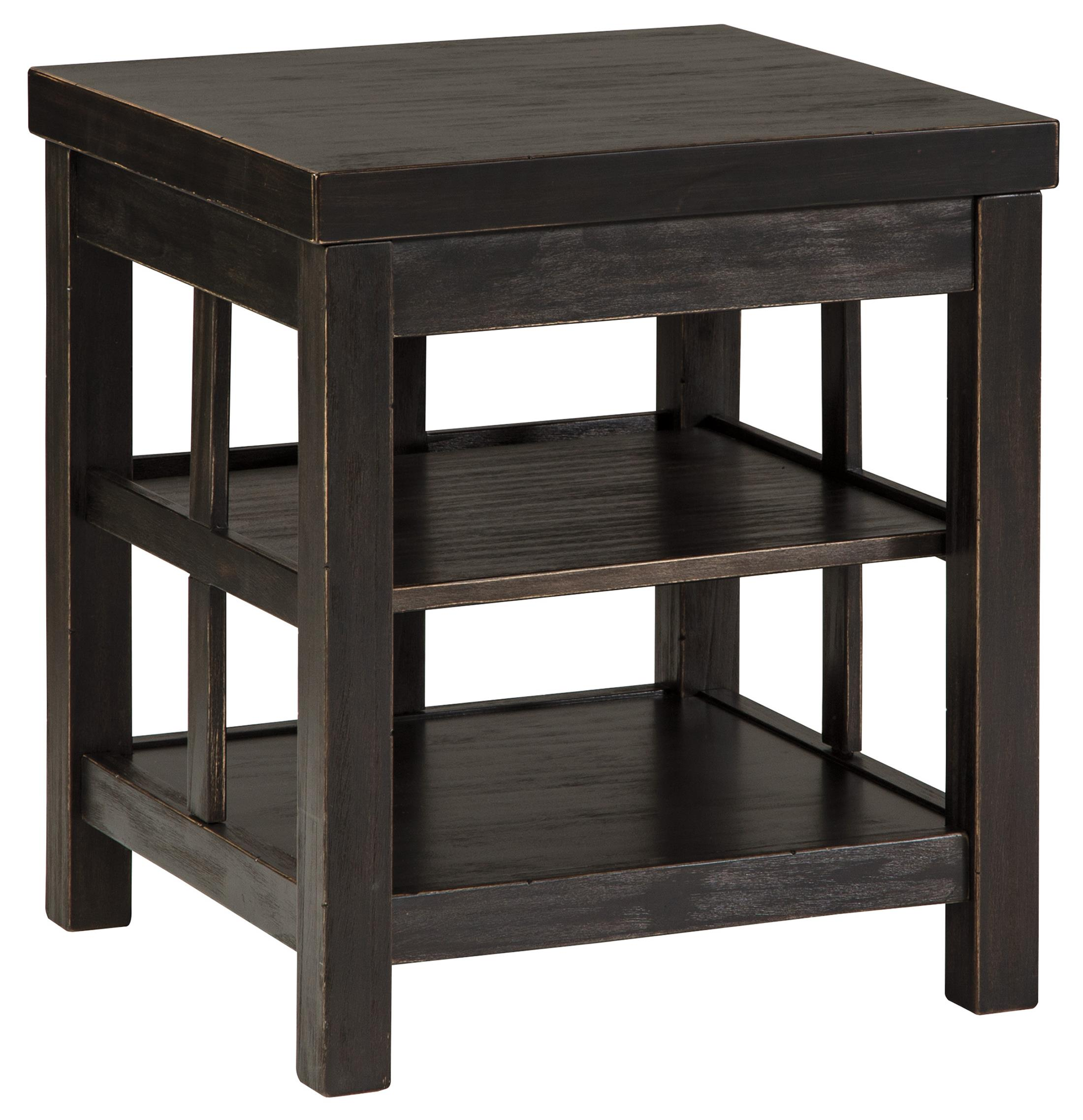 Gavelston End Table by Signature Design by Ashley at Red Knot