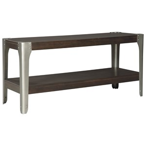 Industrial Sofa Console Table