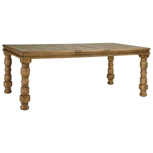Signature Design by Ashley Trishley Rectangular Dining Room Extension Table
