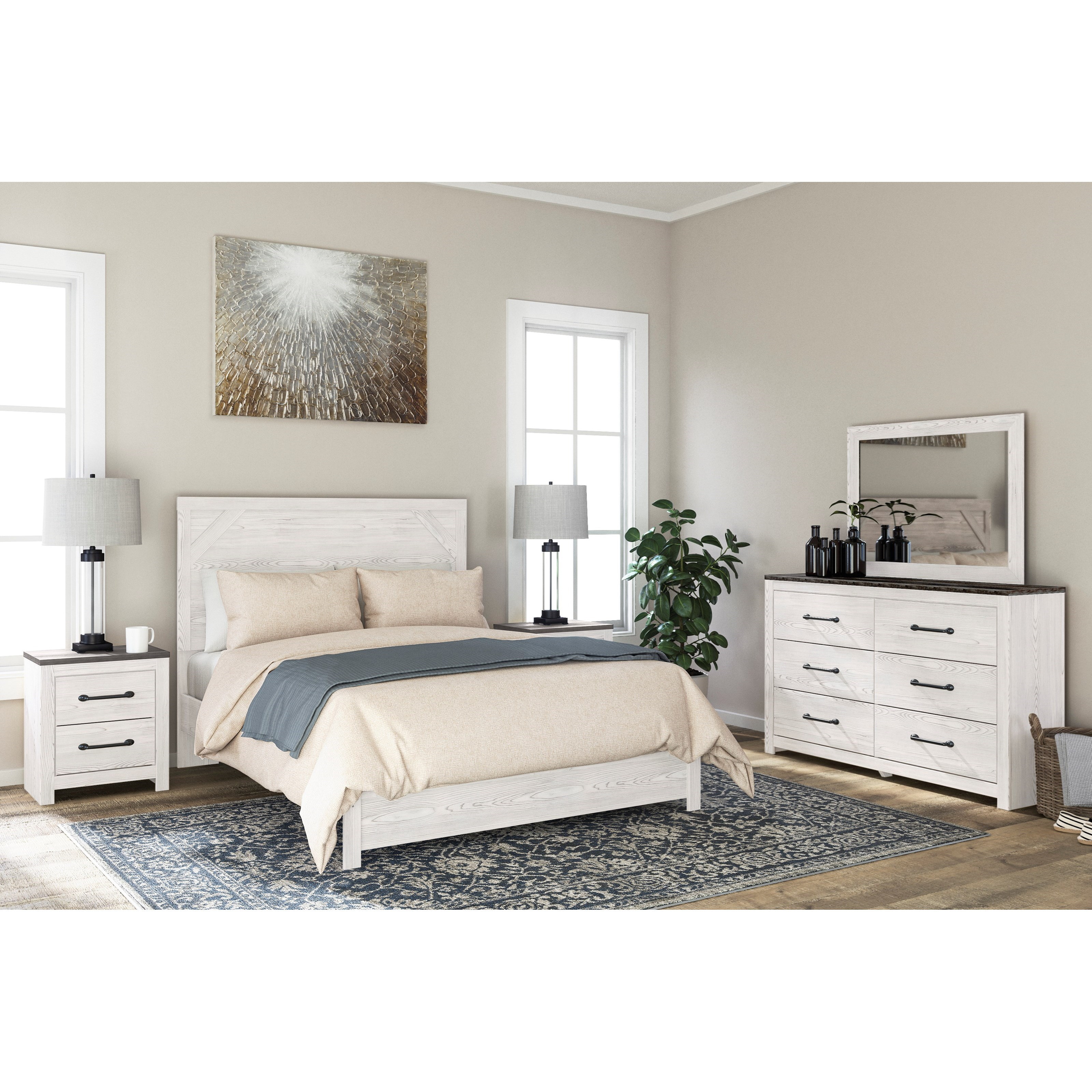 Gerridan Queen Bedroom Group by Signature Design by Ashley at Northeast Factory Direct