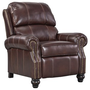 Signature Design by Ashley Glengary Low Leg Recliner
