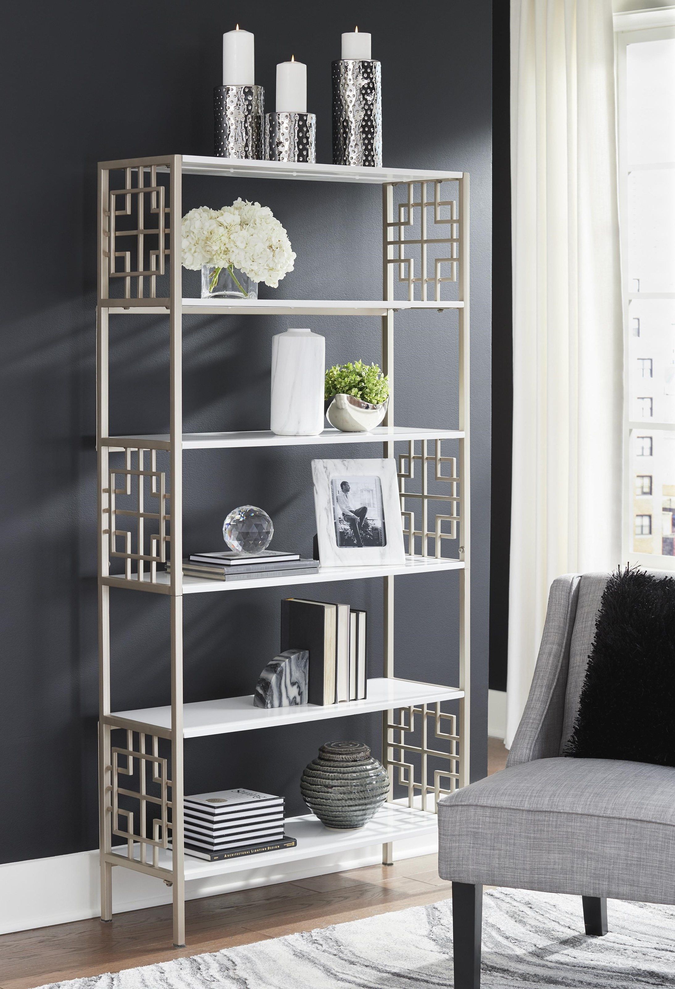 Glenstone Bookcase by Signature Design by Ashley at Sam Levitz Outlet