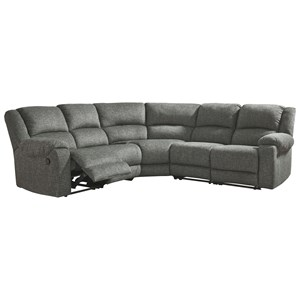 5-Piece Reclining Sectional