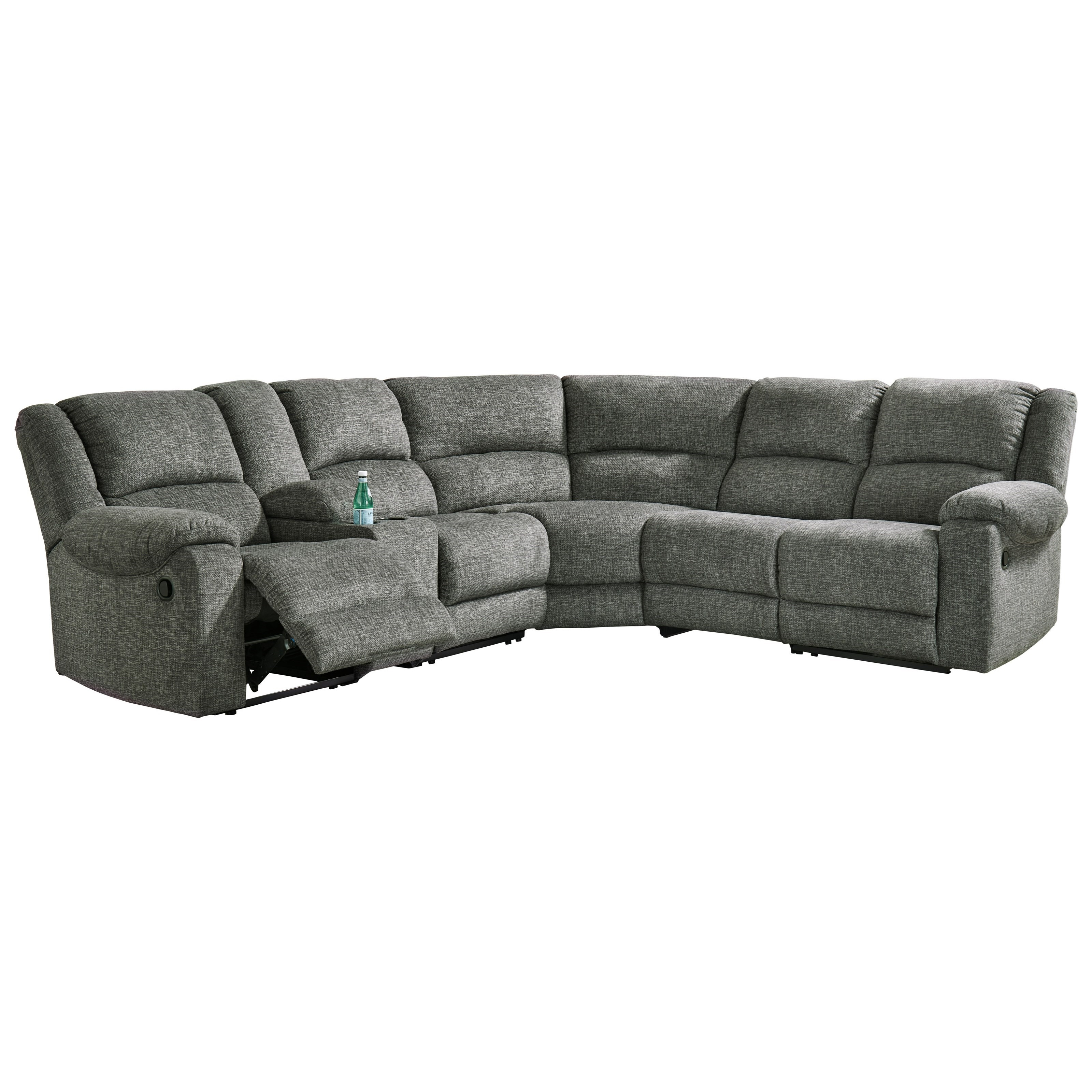 Goalie 6-Piece Reclining Sectional by Ashley Signature Design at Rooms and Rest