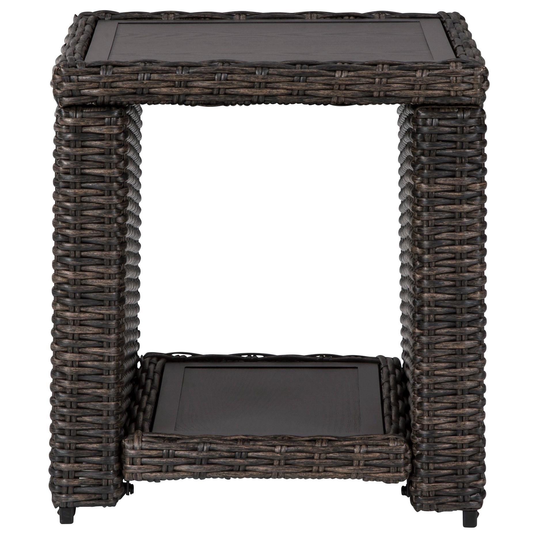 Grasson Lane Square End Table by Ashley (Signature Design) at Johnny Janosik