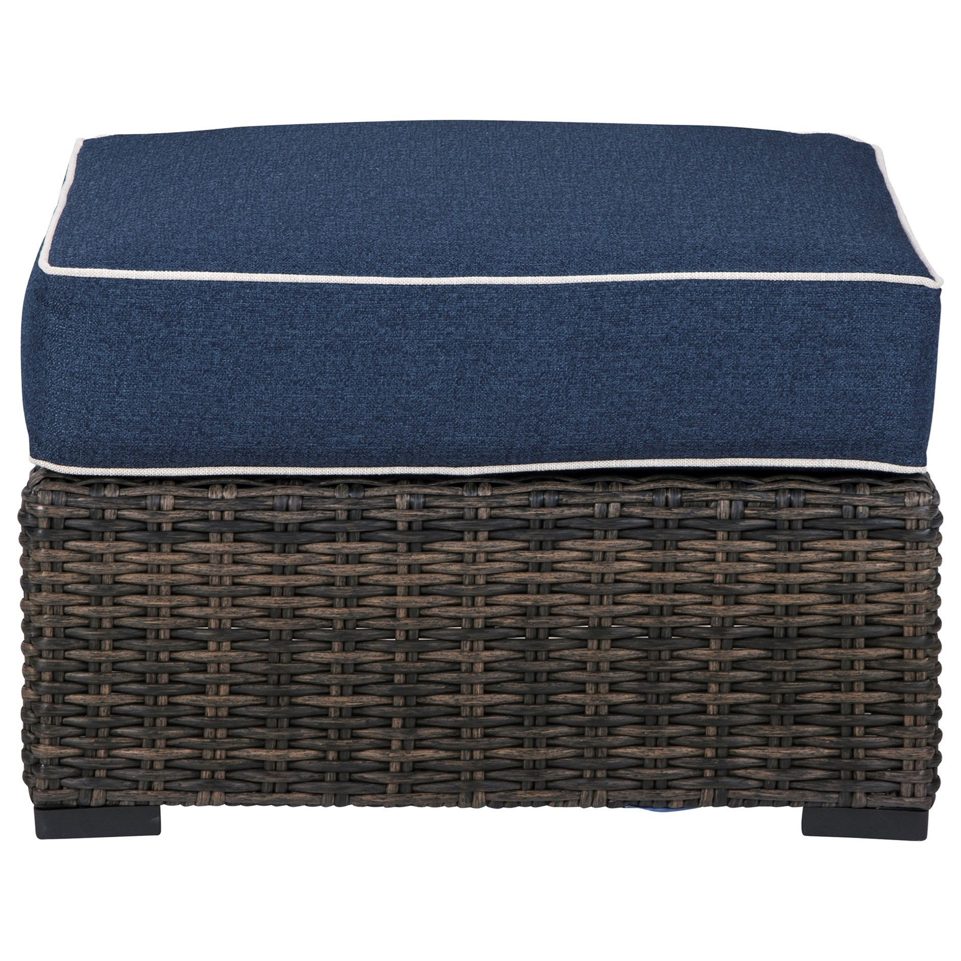 Grasson Lane Ottoman with Cushion by Ashley Signature Design at Dunk & Bright Furniture