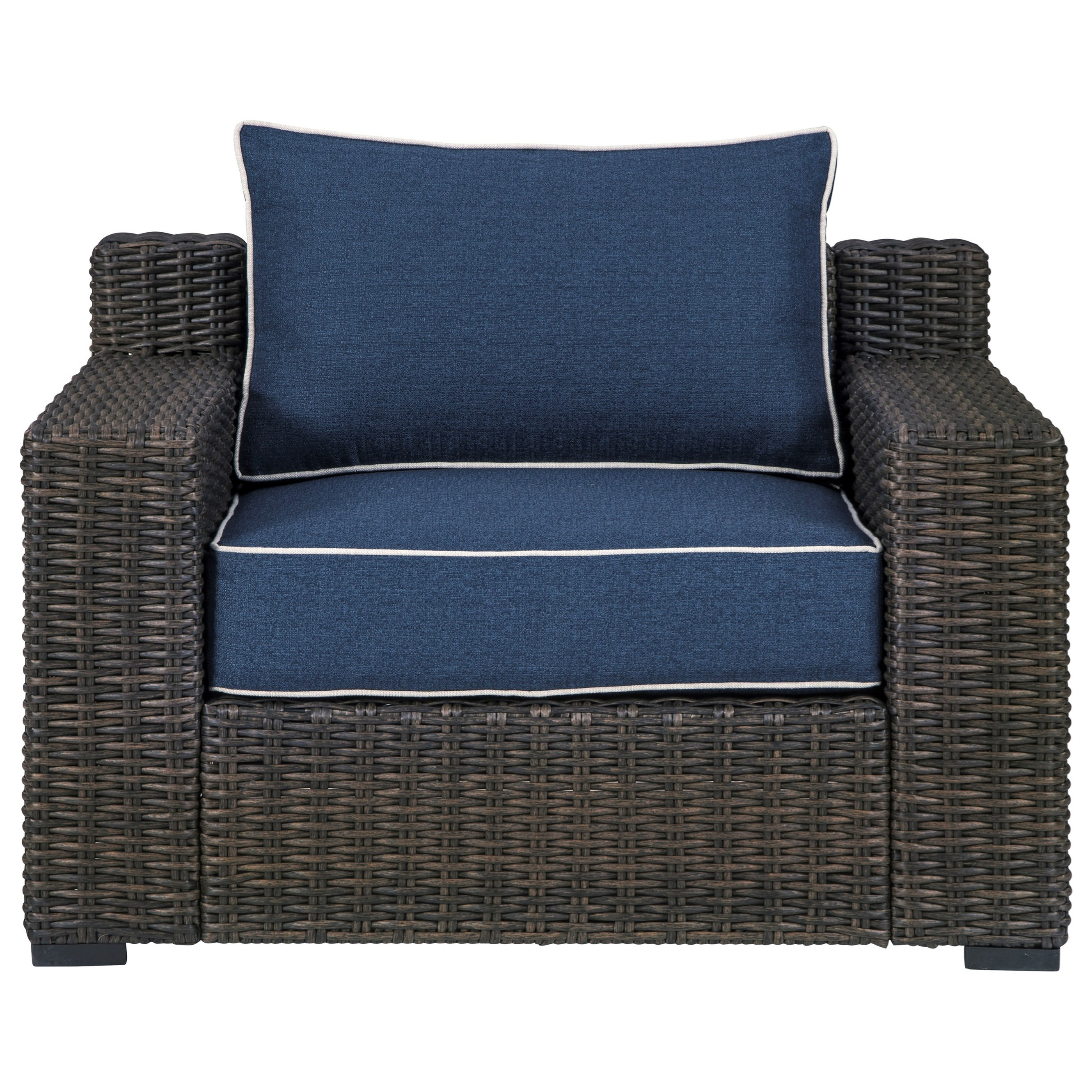 Grasson Lane Lounge Chair w/ Cushion by Signature at Walker's Furniture
