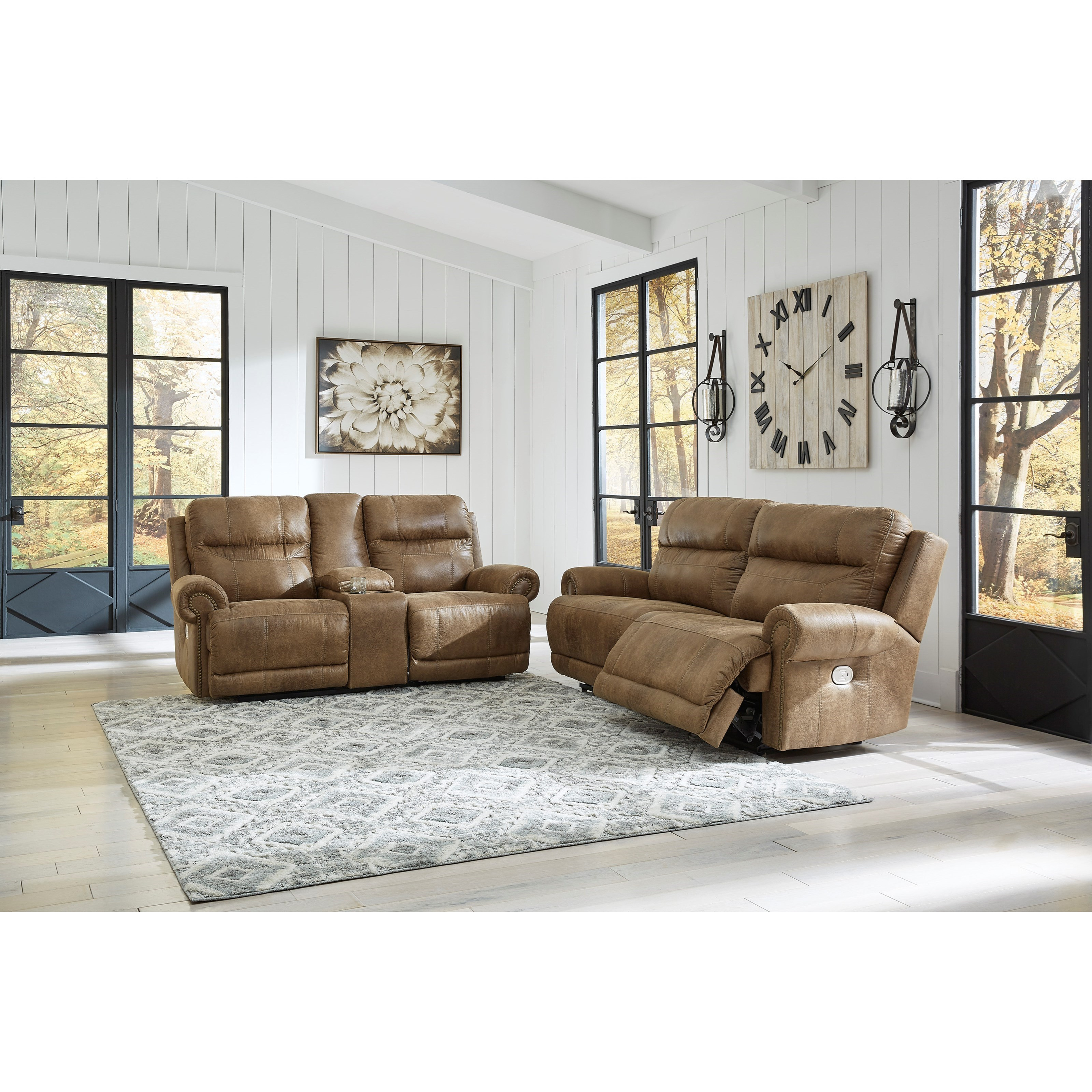 Grearview Power Reclining Living Room Group by Ashley (Signature Design) at Johnny Janosik