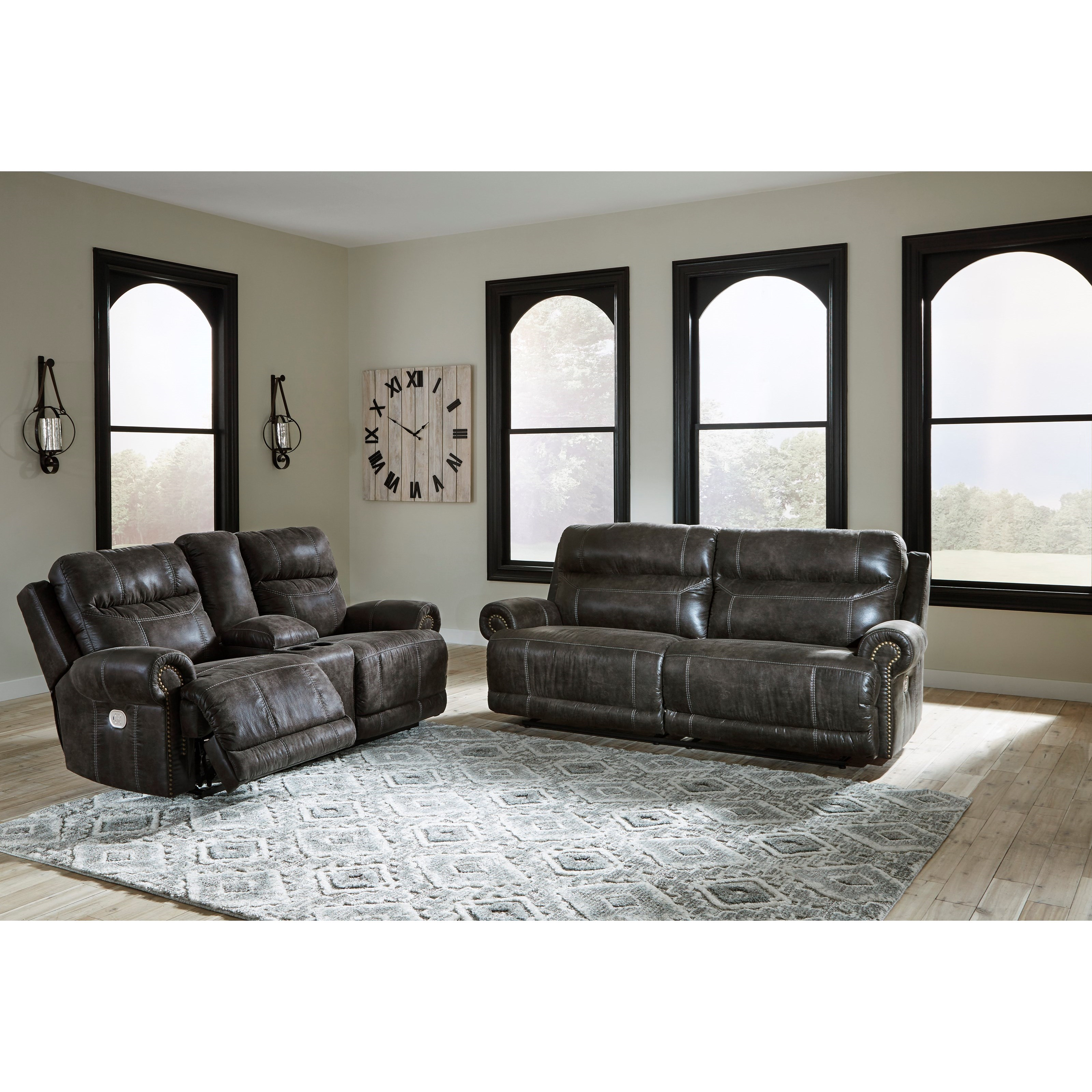 Grearview Power Reclining Living Room Group by Signature Design by Ashley at Carolina Direct