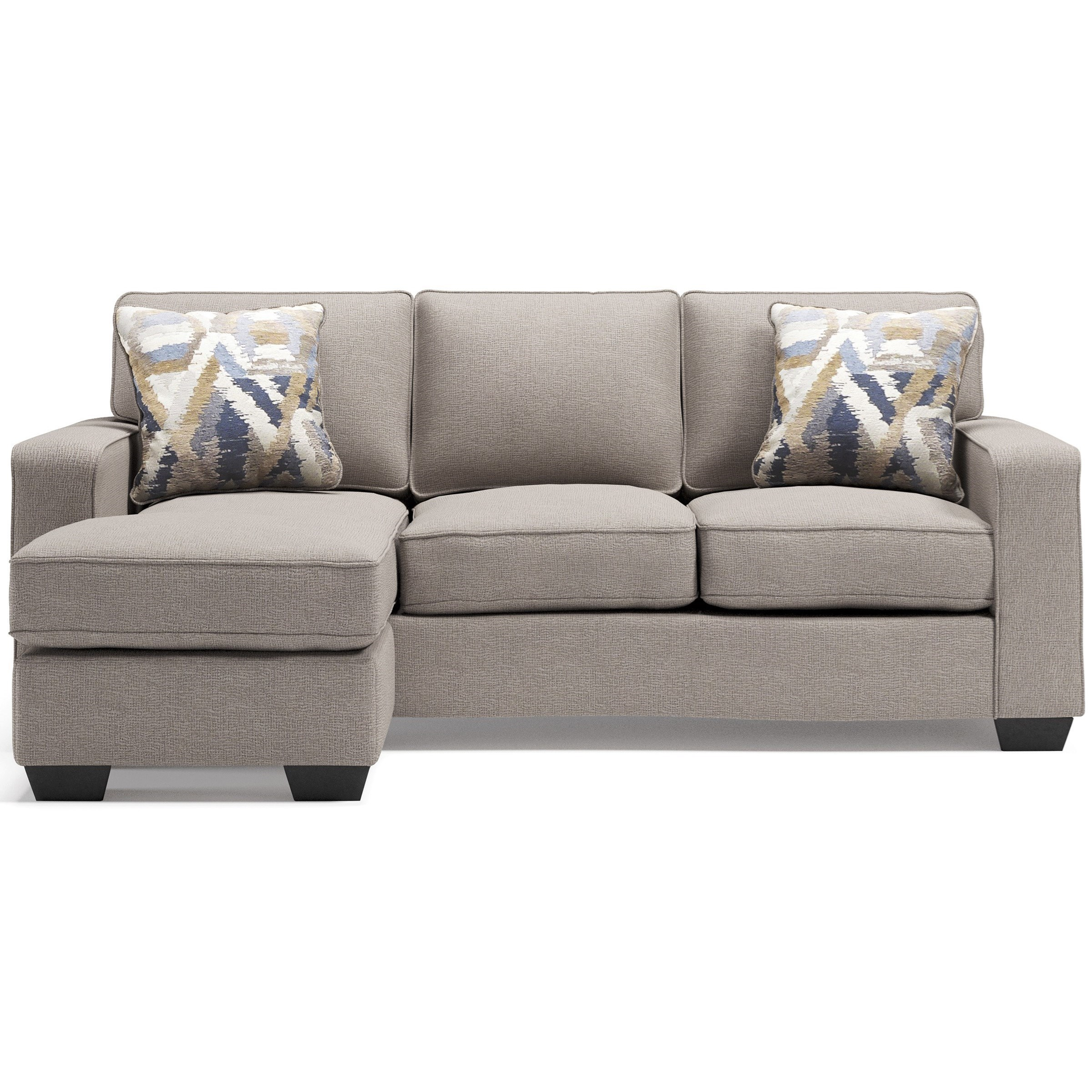 Greaves Sofa Chaise by Signature at Walker's Furniture