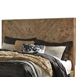 Rustic Queen Panel Headboard