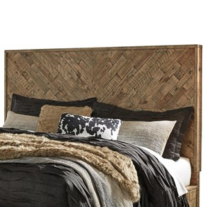 Rustic King/Cal King Panel Headboard