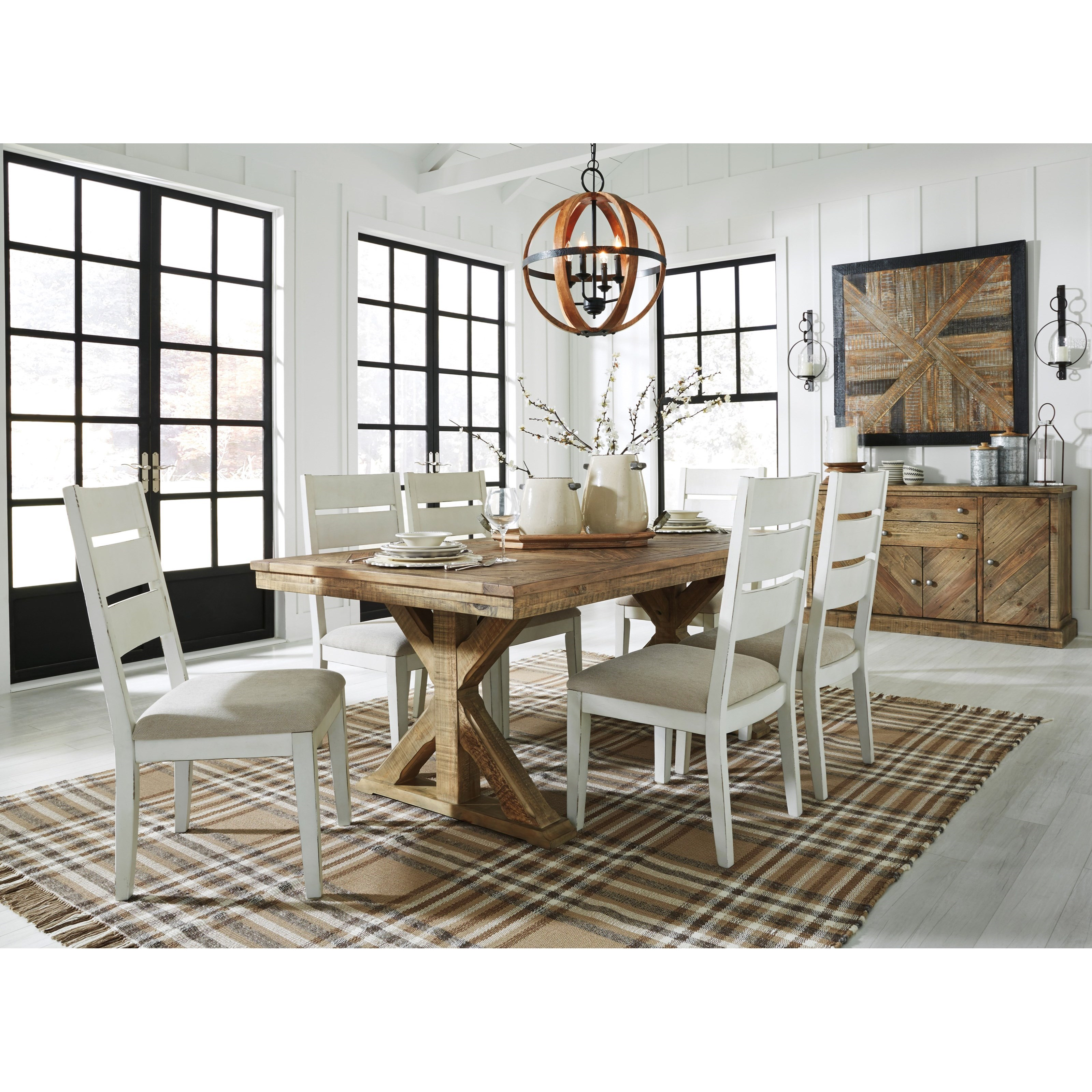 Grindleburg Formal Dining Room Group by Signature Design by Ashley at Northeast Factory Direct