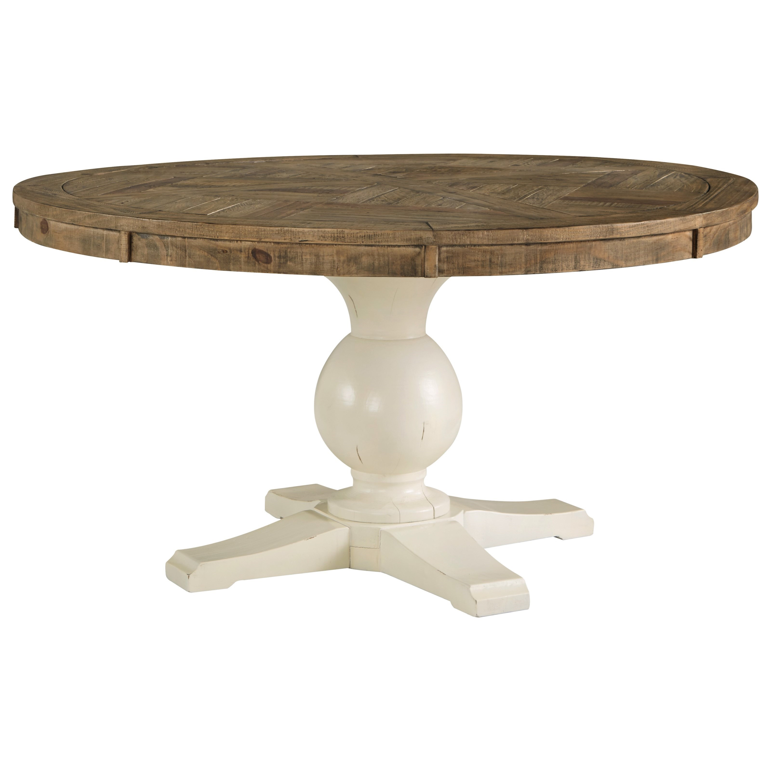 Grindleburg Round Dining Room Table by Signature Design by Ashley at Value City Furniture