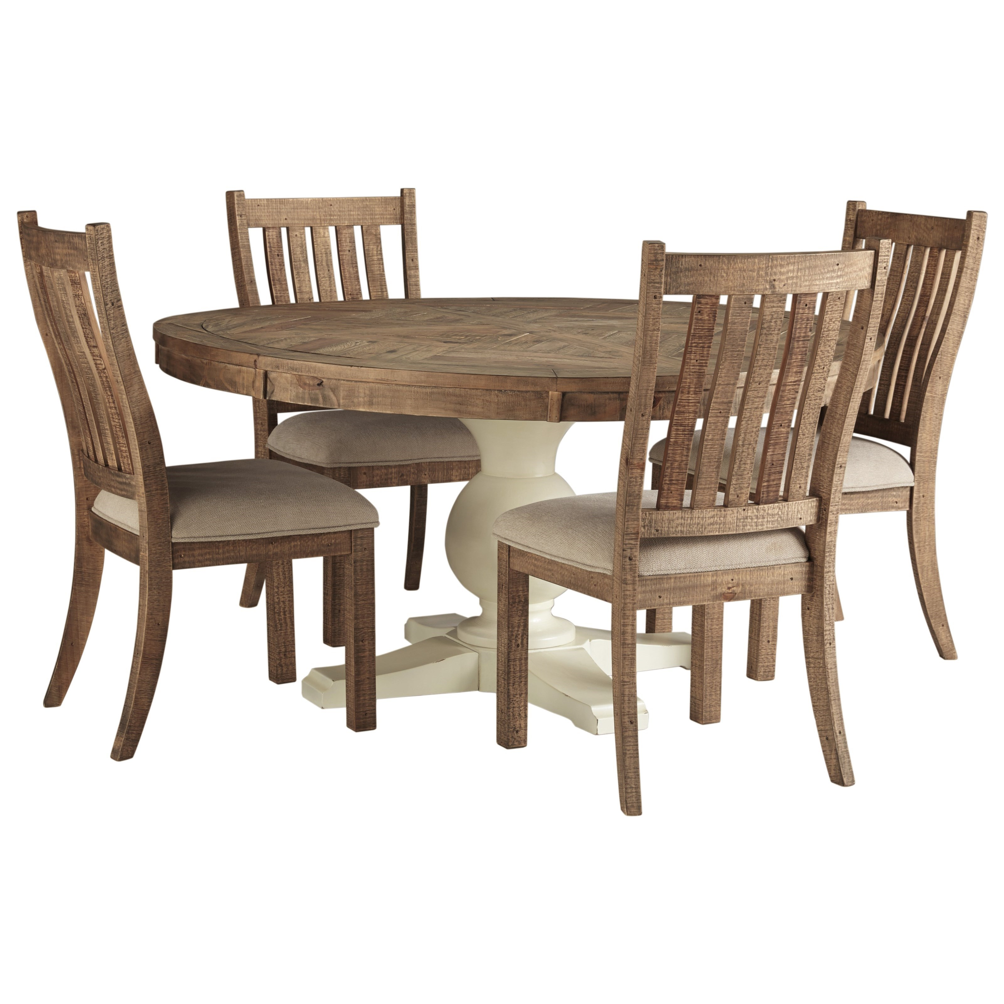 Grindleburg 5 Piece Table and Chair Set by Signature Design by Ashley at Value City Furniture
