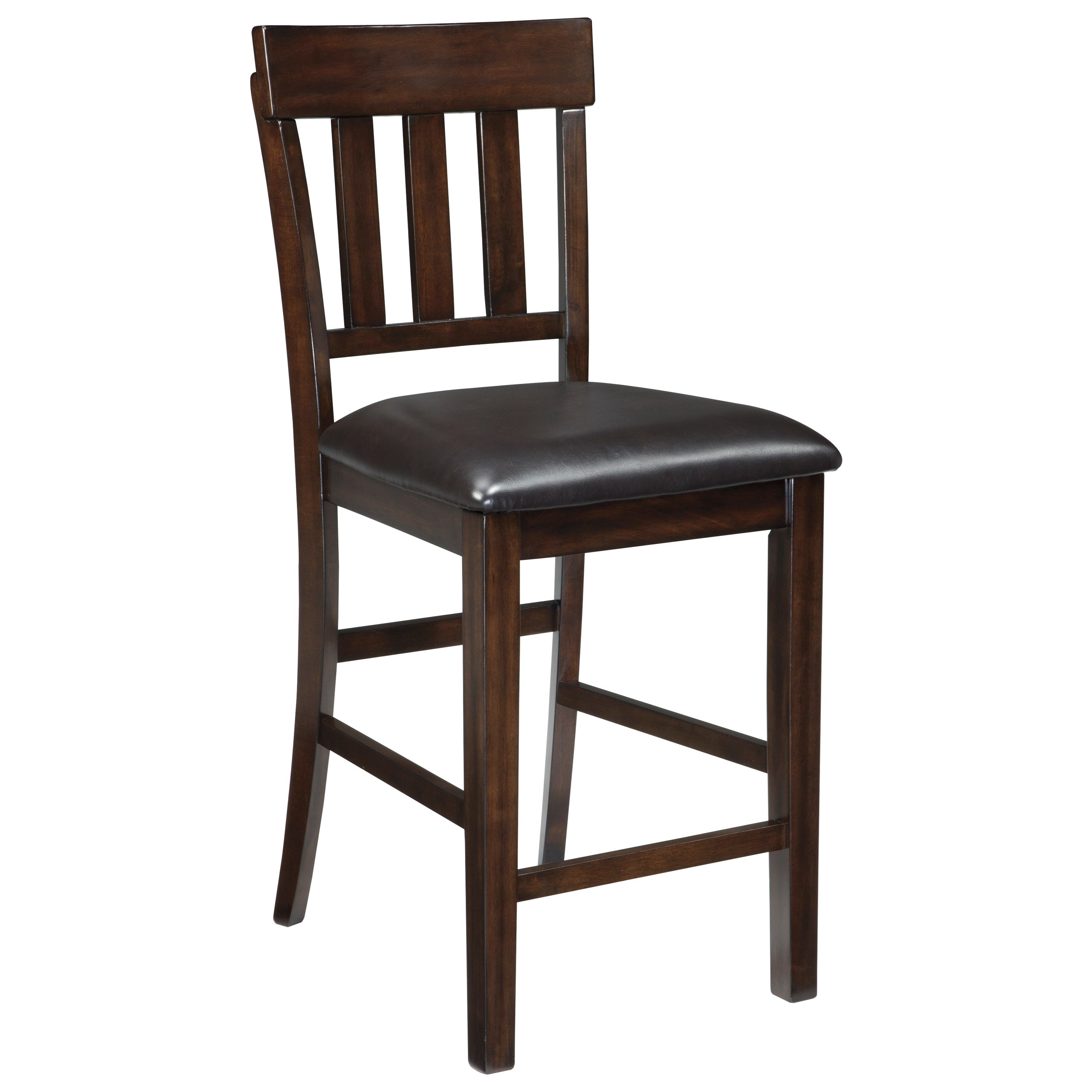 Haddigan Upholstered Barstool by Signature Design by Ashley at Sparks HomeStore