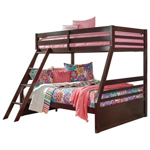 Solid Pine Twin/Full Bunk Bed