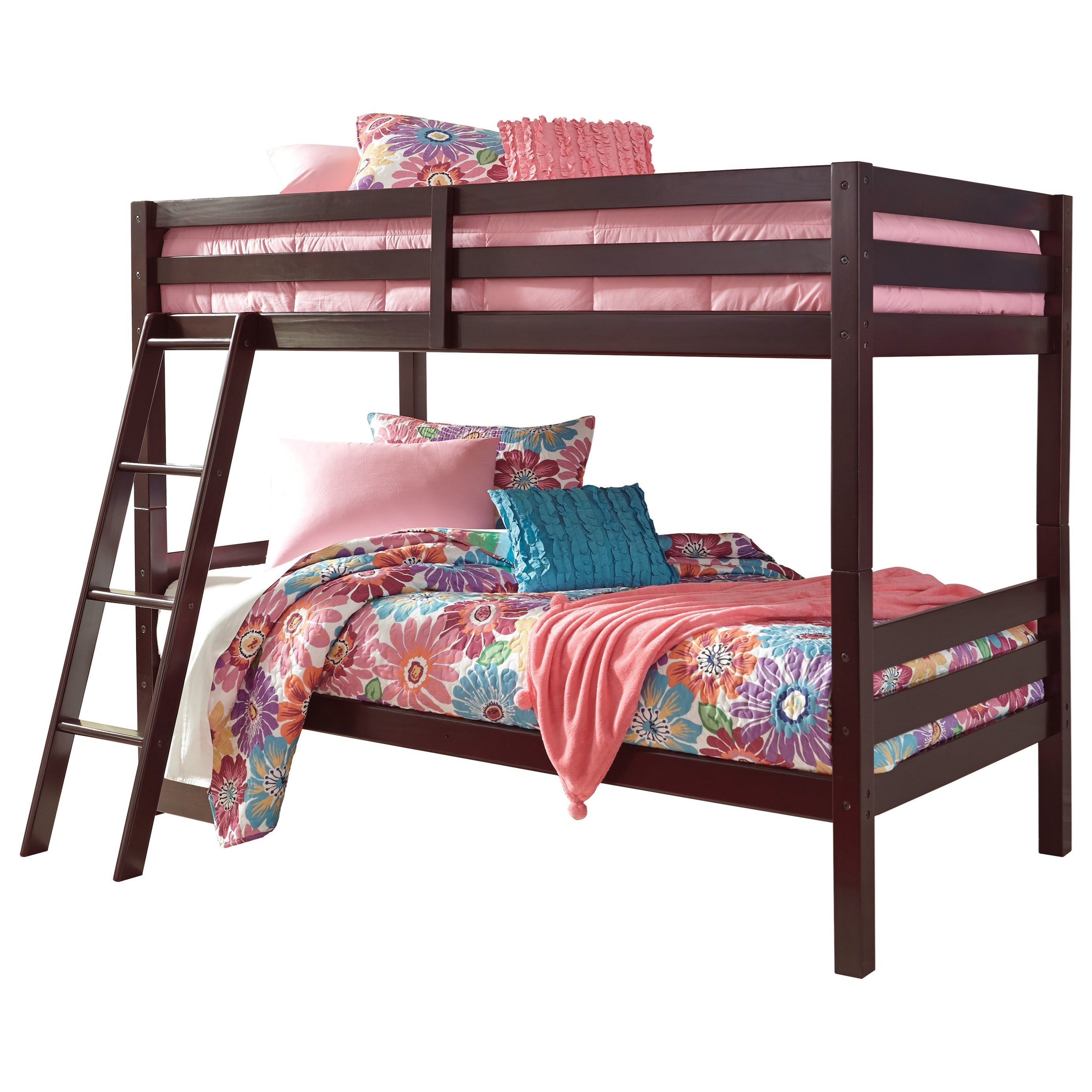 Halanton Twin/Twin Bunk Bed by Signature Design by Ashley at HomeWorld Furniture