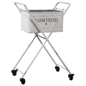 """Farm Fresh"" Beverage Tub with Casters"