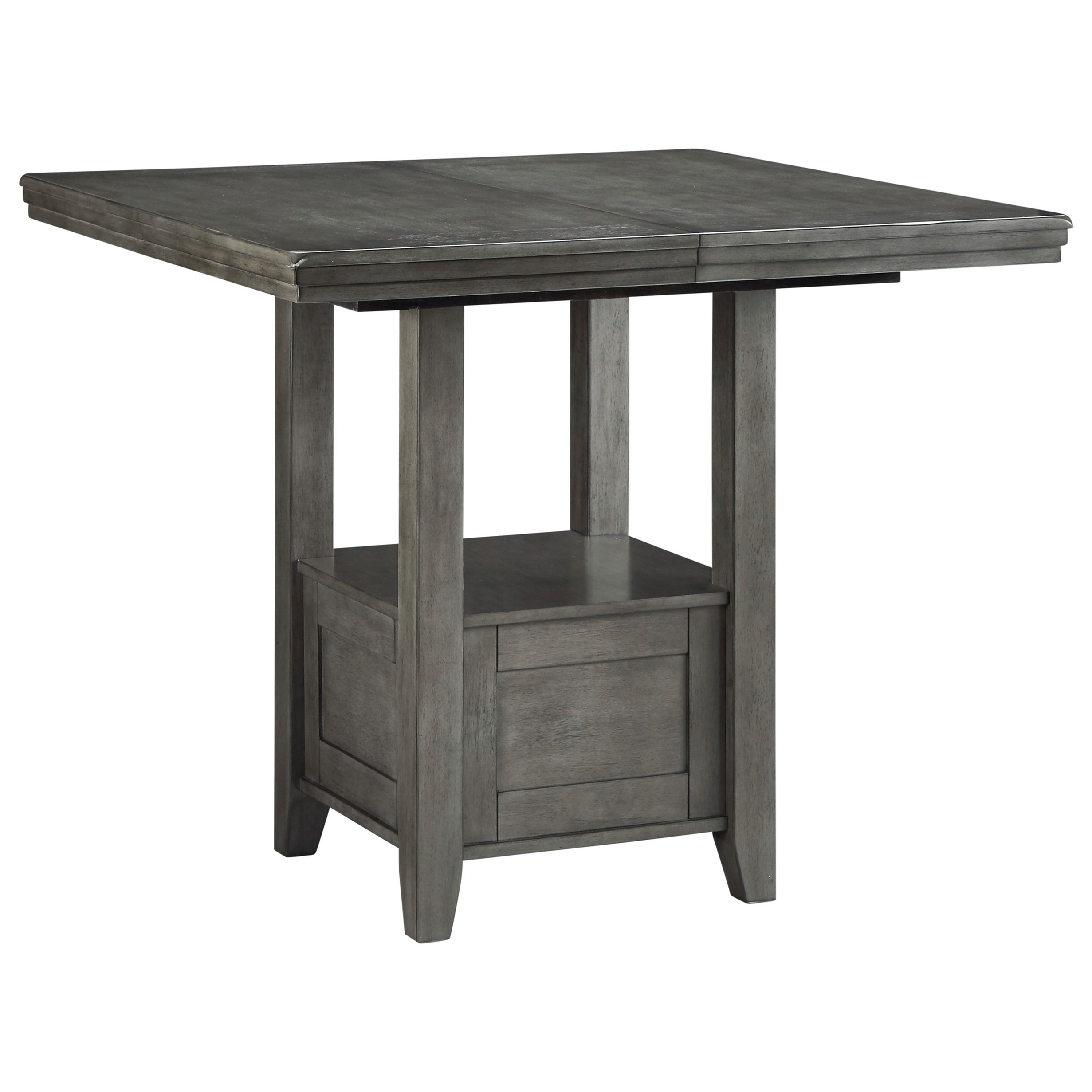 Hallanden Counter Height Dining Table by Ashley (Signature Design) at Johnny Janosik