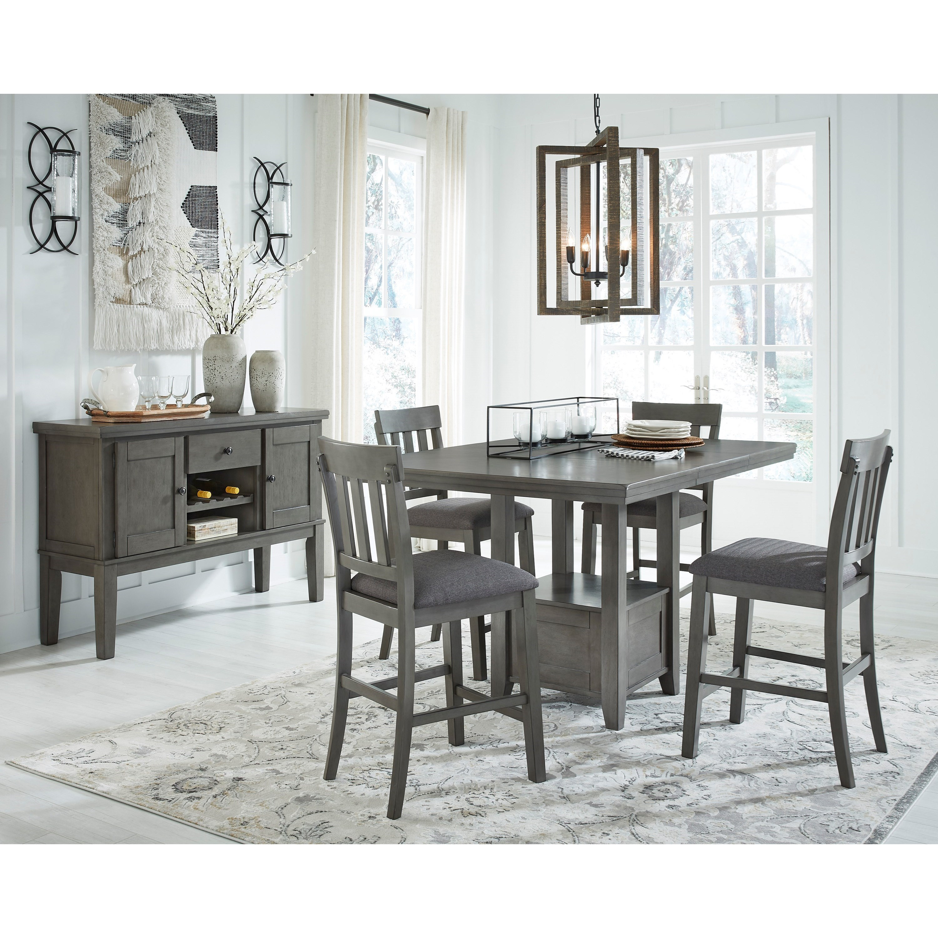 Hallanden Dining Room Group by Signature Design by Ashley at Northeast Factory Direct