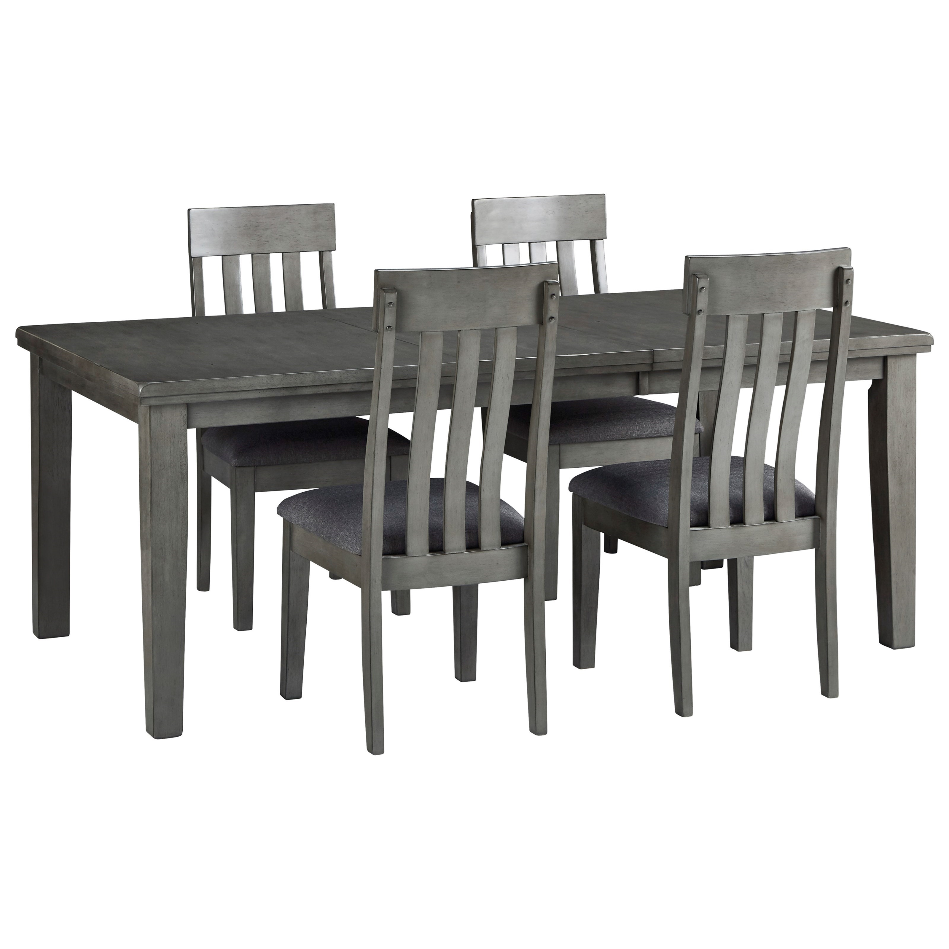 Hallanden 5-Piece Table and Chair Set by Signature Design at Fisher Home Furnishings