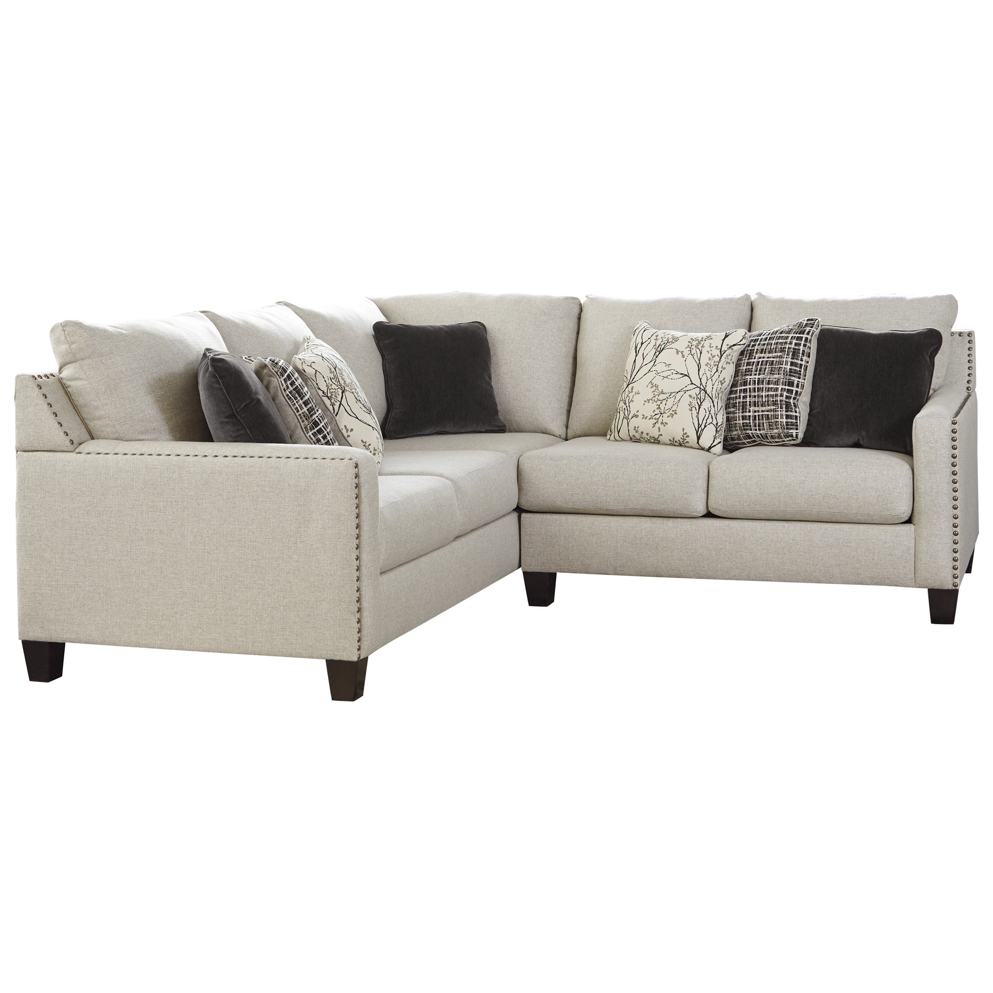 Hallenberg 2-Piece Sectional by Signature Design by Ashley at Northeast Factory Direct